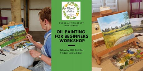 Beginners Oil Painting Workshop tickets