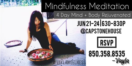 Mindfulness Meditation Series: Mind + Body Rejuvenated