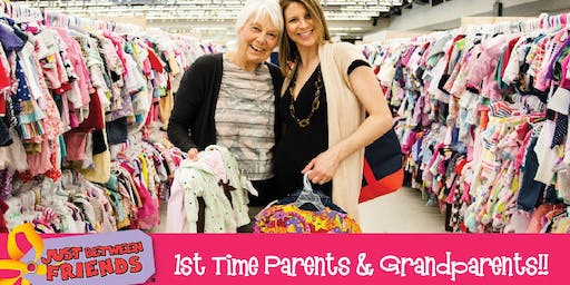 JBF 1st Time Parents & Grandparents Half-Price PreSale Ticket($3) - Aug. 3