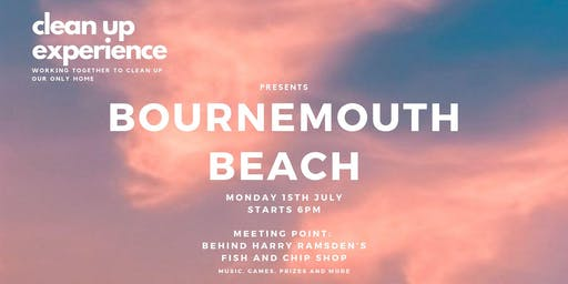 Clean Up Experience — Bournemouth Beach 2019