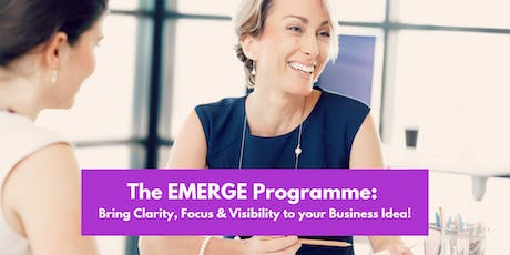The EMERGE Programme - Bring  your Business Idea i tickets
