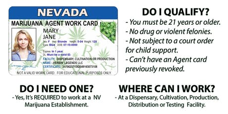 Trim Ready Marijuana Work Cards Info Session - Get A Nevada Cannabis Industry Job! tickets