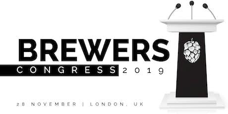 Brewers Congress 2019 tickets