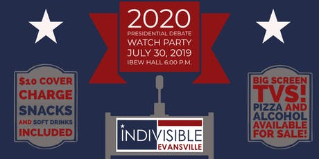 Watch Party for the Democratic Presidential Debate tickets