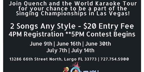 World Karaoke Tour Qualifiers tickets
