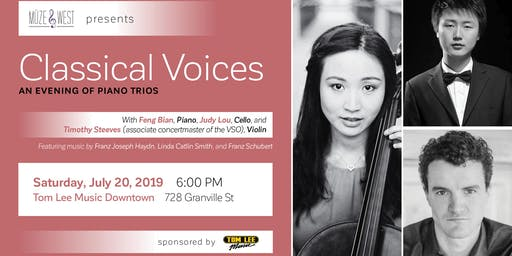 Classical Voices - An Evening of Piano Trio Music presented by Müzewest