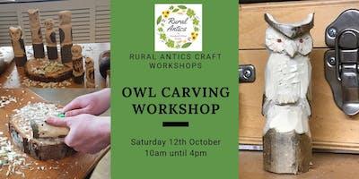 Owl Carving Workshop