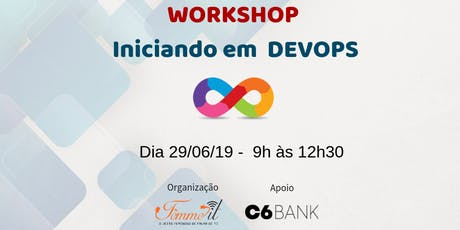 Workshop Iniciando em Devops ingressos