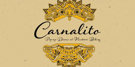 Carnalito pop up dinner at Newtown Baking