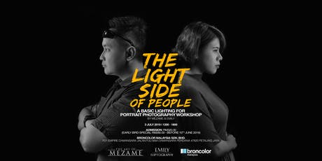 THE LIGHT SIDE OF PEOPLE: Basic Lighting for Portrait Photography Workshop tickets