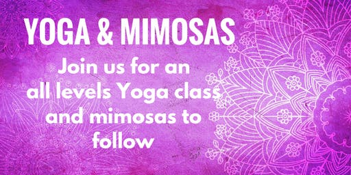 Yoga & Lavender Mimosas on the Farm