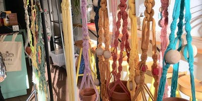 Macrame Plant Hanger Workshop at By Our Hands