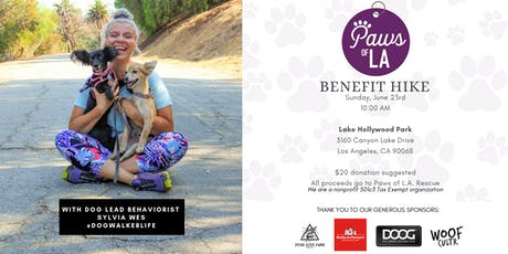 Paws of L.A. Rescue Benefit Hike Fundraiser tickets