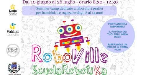 Camp Estivo RoboVille - Scuola Robotika 2019