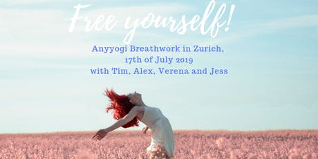 Freeing Group Breathwork Session with 4 Breathwork Therapists Tickets