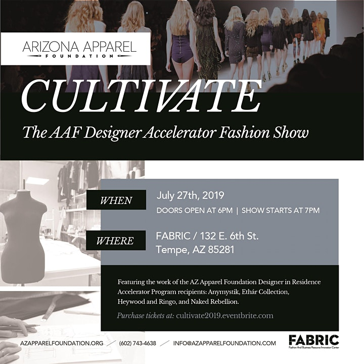 CULTIVATE  The AZ Apparel Foundation Designers in Residence Fashion Show image