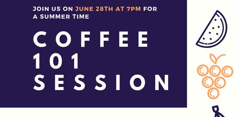 Coffee 101 Session tickets