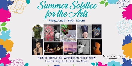 Summer Solstice for the Arts