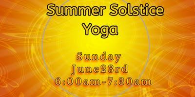 Summer Solstice Yoga