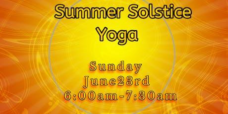 Summer Solstice Yoga tickets