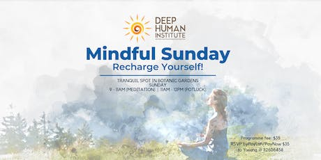 Mindful Sunday: Recharge Yourself! tickets