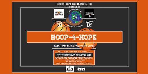 Inaugural Hoop-4-Hope Basketball Skill Development Clinic