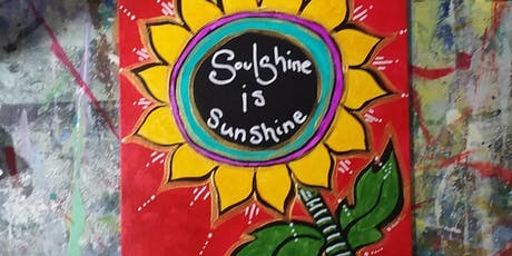Paints & Pints at 7 Dogs Brew Pub - Soulshine! tickets