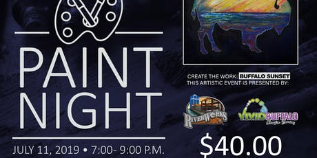 Buffalo Sunset Paint Night tickets