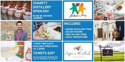 Copper in the Clouds - Charity Open Day, Distillery Tour, Gin Tasting & BBQ