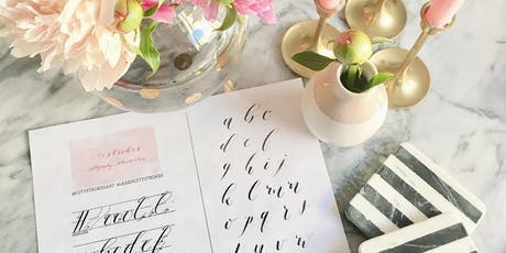 Modern Pointed Pen Calligraphy at Smitten Boutique September 15 tickets