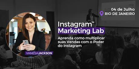 Workshop Instagram Marketing Lab com @Vanesa Jackson Edição Rio de Janeiro ingressos