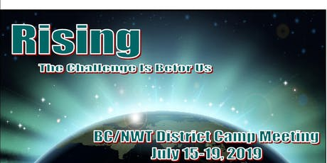 BC-NWT  District Camp Meeting 2019 tickets