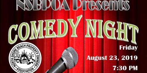 NSBPOA Presents: Comedy Night!