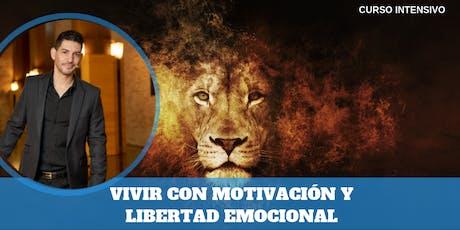 """CURSO """"VIVIR CON MOTIVACIÓN Y LIBERTAD EMOCIONAL"""" EN TUDELA entradas"""