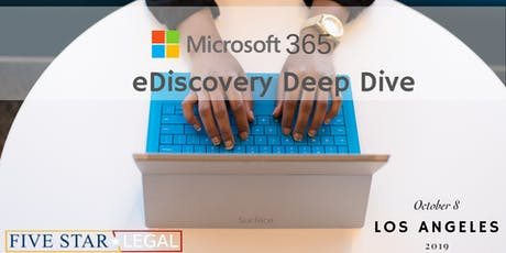 Microsoft 365 eDiscovery Workshop - Los Angeles tickets