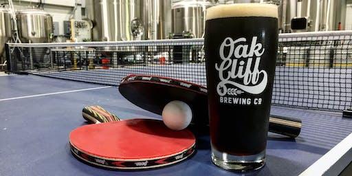 Oak Cliff Ping Pong Tourney