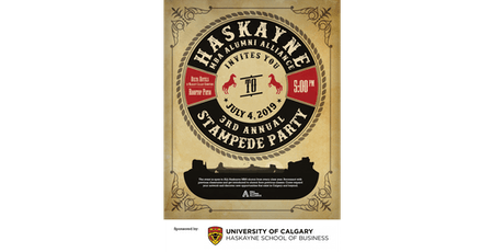 3rd Annual Haskayne MBA Alumni Alliance Stampede Party tickets