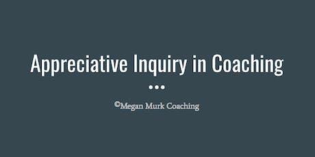 Appreciative Inquiry in Coaching tickets
