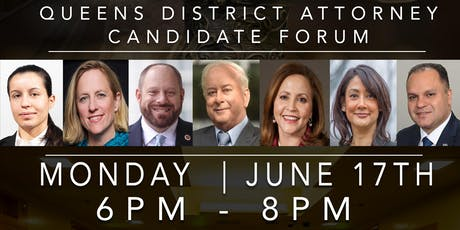 June 17 Queens District Attorney Candidate Forum -- Queensbridge  tickets