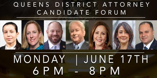 June 17 Queens District Attorney Candidate Forum -- Queensbridge