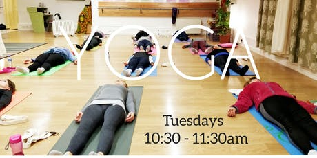 Morning YOGA. TUESDAYS 10:30am. 6WEEKS COURSE. €55 tickets