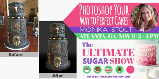 Photoshop Your Way to Perfect Cakes with Monika Stout