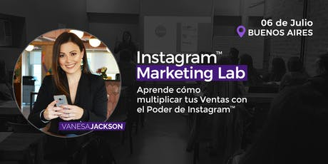 Workshop Instagram Marketing Lab - Buenos Aires  entradas