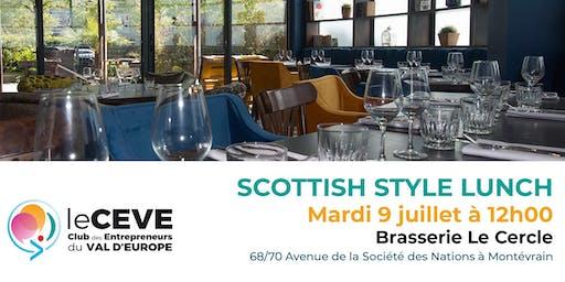 Scottish Style Lunch du 9 juillet