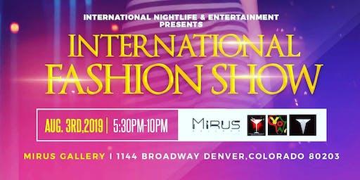 International Fashion Show 2019