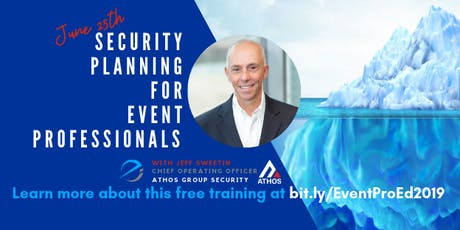 Security Planning For Event Professionals tickets