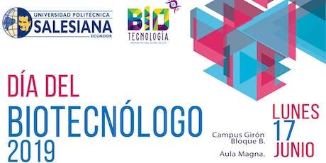 Día del Biotecnólogo entradas