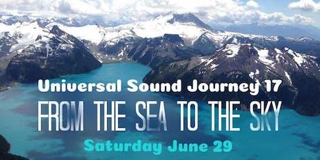 Universal Sound Journey 17 tickets