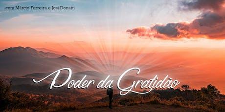 [Ribeirão Preto/SP] Poder da Gratidão ingressos