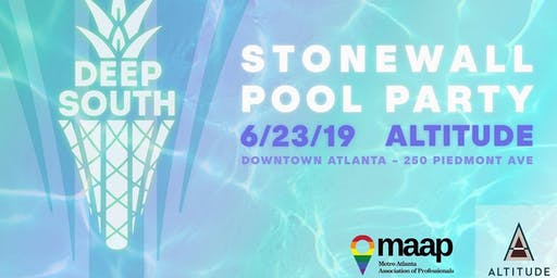 MAAP Stonewall Pool Party at Altitude